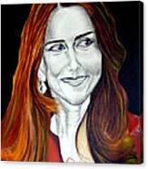 Duchess Of Cambridge Canvas Print