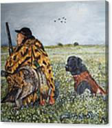 Duck Hunters Canvas Print