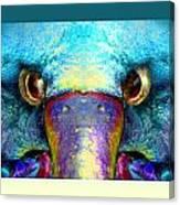 Duckeaglebird Canvas Print