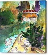 Ducks In Avila 01 Canvas Print