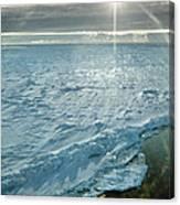 Due South 1.30am Ross Sea Canvas Print
