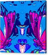 Dueling Butterflies Canvas Print