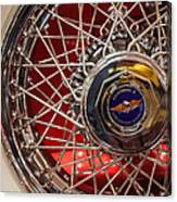Duesenberg Wheel Canvas Print