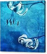 Duet - Blue03 Canvas Print