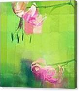 Duet - J052064173gr Canvas Print