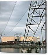 Duke Energy Mcguire Nuclear Energy Station Canvas Print