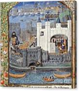 Duke Of Orleans, Tower Of London, 1430s Canvas Print