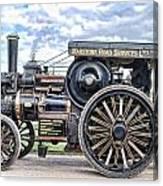 Duke Of York Traction Engine 4 Canvas Print
