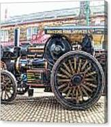 Duke Of York Traction Engine 6 Canvas Print
