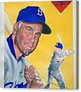 Duke Snider Canvas Print