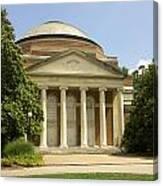 Duke University Baldwin Auditorium Canvas Print