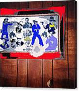 Duke Wayne Western Films Collage Casa Grande Arizona 2012 Canvas Print
