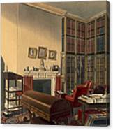 Dukes Own Room, Apsley House, By T. Boys Canvas Print