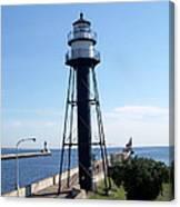 Duluth Mn Lighthouses  Canvas Print