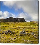 Dun Aengus - Ancient Irish History Canvas Print