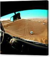 Dune Bashing In The Empty Quarter Canvas Print
