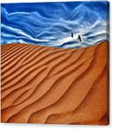 Dune Raven Sky Canvas Print