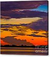 Dunedin Causeway Sunset Canvas Print