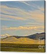 Dunes In Nevada  Canvas Print