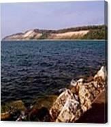 Dunes North Of Frankfort Michigan Canvas Print