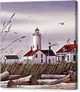 Dungeness Lighthouse Canvas Print