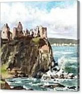 Dunluce Castle Antrim N I Canvas Print