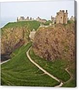 Dunnottar Castle Scotland Canvas Print