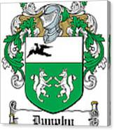 Dunphy Coat Of Arms Irish Canvas Print