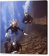 Dunraven Divers Canvas Print