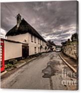 Dunsford Village Canvas Print