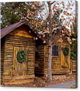 Dunwoody Farmhouse Cabins Canvas Print