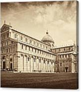 Duomo And Tower Canvas Print