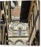 Duomo In Firenze Canvas Print