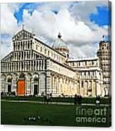 Duomo Of Field Of Dreams Canvas Print