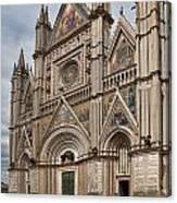 Duomo Orvieto Italy Canvas Print