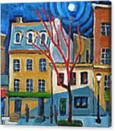 Dupont Circle Connecticut Avenue Canvas Print