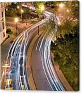 Dupont Circle Traffic I Canvas Print