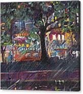 Dupont In The Rain Canvas Print