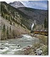 Durango And Silverton Rr Canvas Print
