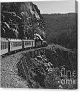 Durango Silverton Train Canvas Print