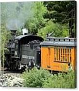 Durango To Silverton Canvas Print