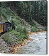 Durango To Silverton Railroad Canvas Print
