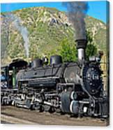 Durango To Silverton Train Canvas Print