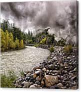Durango Train To Silverton Dsc07626 Canvas Print