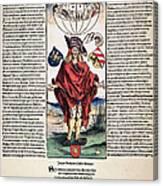 Durer: Syphilitic, 1496 Canvas Print