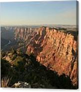 Dusk At The Canyon Canvas Print