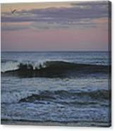 Dusk At The Shore Canvas Print