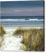 Dusk In The Dunes Canvas Print
