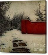 Dusk In The Garden  Canvas Print