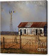Dust In The Air Canvas Print